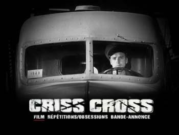 Pour toi j'ai tué (Criss Cross) 1949 - test DVD - Menu